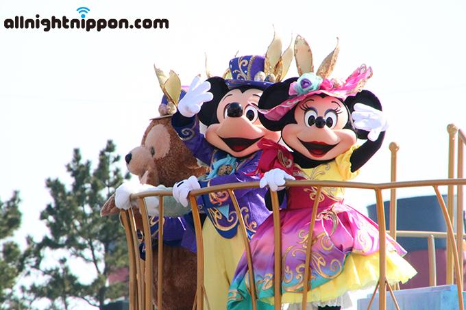 2年ぶりの再演!東京ディズニーシー「イースターイベント」に大歓声!