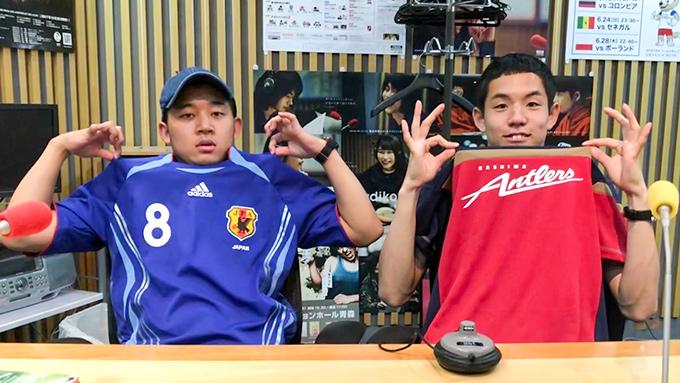 注目の若手芸人が、渋谷でワールドカップ日本代表応援企画にチャレンジ!