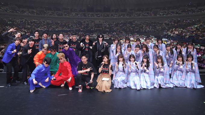 Toshl、氣志團、けやき坂46ら豪華パーソナリティ出演の「ALL LIVE NIPPON 2019」に1万人が熱狂!